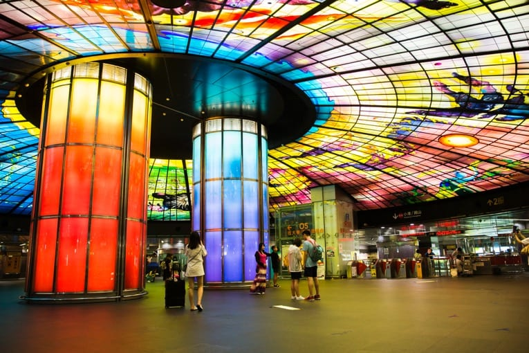 Formosa Boulevard Station - (Xinxing / Architecture) | HereNow Kaohsiung