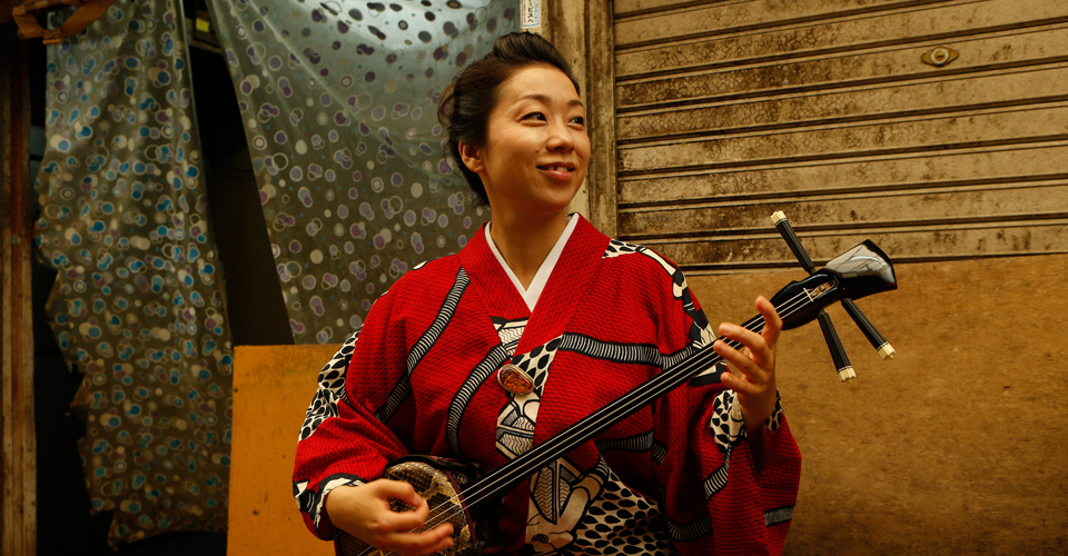 taking okinawan folk songs to the world kanako horiuchi and her